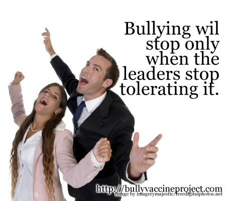 Bullying will stop