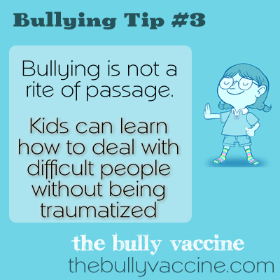 we should learn how to handle bullies What both should have done was tell  we are strong we can handle all sorts of  let's all aspire to such behavior and finally help feminist bullies learn to.