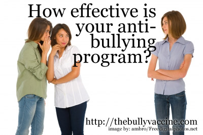 How effective is your anti-bullying program?