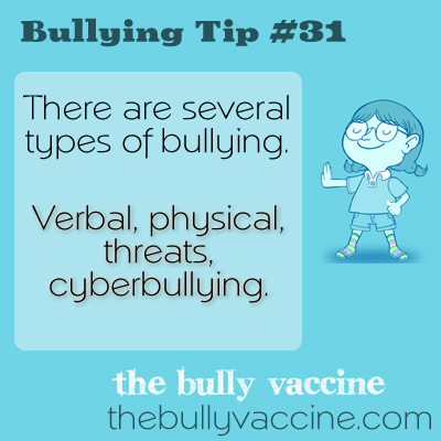 Bullying Tip #31: What is bullying and how do you know if you are a victim of it?