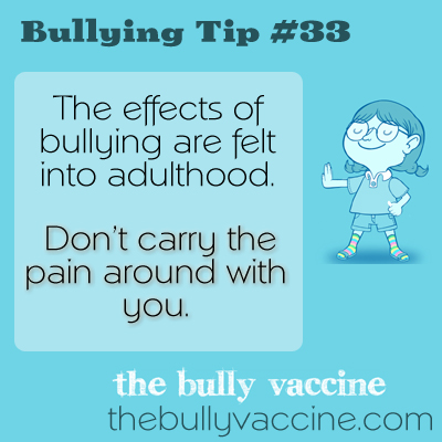 Bullying Tip #33: How can you heal after being bullied?