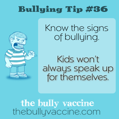 Bullying Tip #36: How and why to speak out against bullying