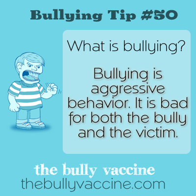 Bullying tip #50: Why society can't ignore the bullying problem any longer.