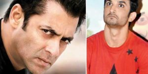 Salman Khan and Sushant Singh Rajput
